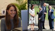 Kate Middleton muere de risa con el 'piropo' de un sobreviviente del holocausto nazi