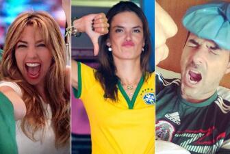 Así vibran los famosos en el Mundial