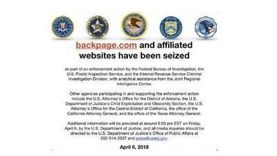 Confiscan página web involucrada con prostitución y tráfico sexual que operaba desde Arizona