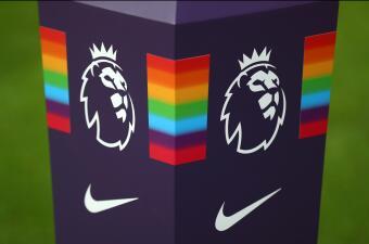 La Premier League se tiñó de arcoiris en esta jornada en contra de la discriminación