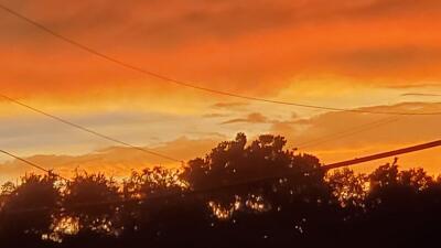 Espectáculo natural en Houston: Así retrataron los residentes de la región el atardecer tras las tormentas