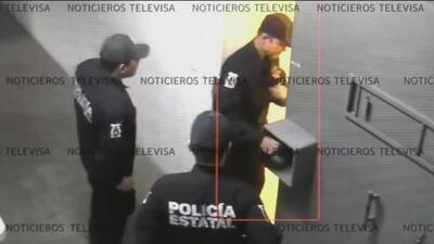 Un video muestra cómo dos narcos ligados a 'El Chapo' escapan uniformados de una cárcel de Sinaloa