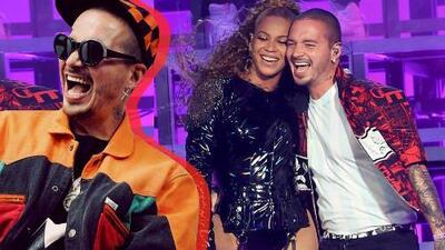 J Balvin y Beyoncé encienden Coachella al ritmo de 'Mi Gente'