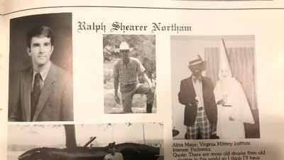 Gobernador de Virginia se retracta y ahora dice que no es él posando en la foto racista