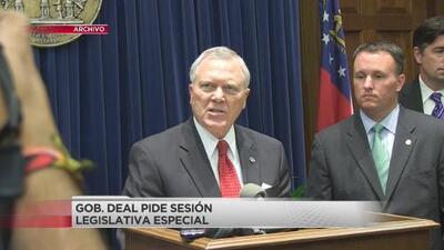 Gobernador de Georgia busca iniciar con la reconstrucción de zonas afectadas tras el paso de Michael