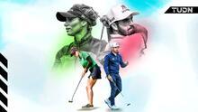 Ancer y López, máximos representantes del golf en México