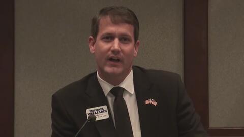 El excandidato a gobernador Michael Williams es encarcelado por fraude