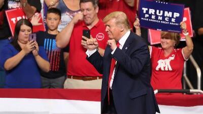 76 minutos de los mismos temas: Trump lanzó su candidatura hacia las presidenciales de 2020 reciclando argumentos