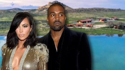 Kim Kardashian y Kanye West reciben regaño de las autoridades por portarse mal con animales en su nuevo rancho