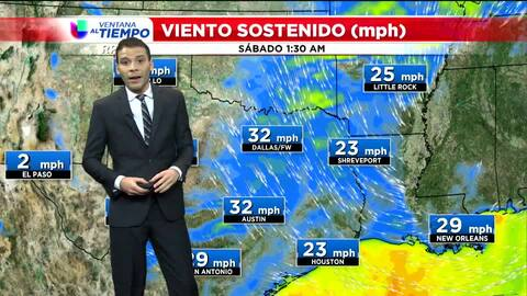Advertencia por fuertes vientos en Houston