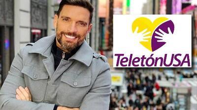 Gracias al amor de la gente, al compromiso de los famosos y a los besos de Julián Gil, Teletón USA llegó a la meta