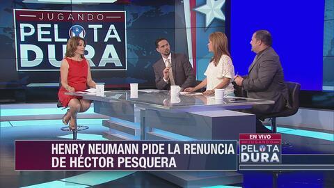 Henry Neumann pide la renuncia de Héctor Pesquera