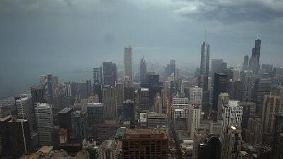 Tormentas y fuertes vientos: a Chicago le espera un lunes con posibilidades de tiempo severo