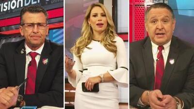 De dolores, cabello y bebés: comentaristas de Univision Deportes externan sus preocupaciones con el Dr. Juan
