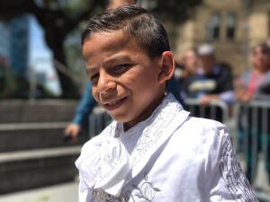 En fotos, Marlon se unió a la Ruta de Impacto en San José