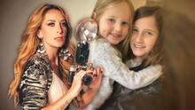 No solo Elissa brilla ante las cámaras: la hija menor de Geraldine Bazán hace trucos de magia
