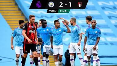 El City venció al Bournemouth y lo dejó cerca del descenso