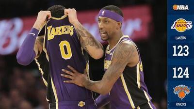 ¡En ridículo! Lakers pierde ventaja de 11 a 3:44 del final y cae ante Knicks