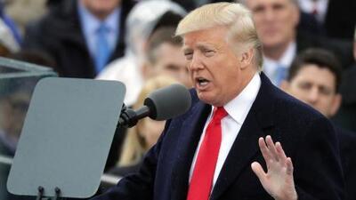 El discurso completo de la toma de posesión de Donald Trump (en español)