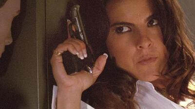 Kate del Castillo confiesa que tiene con qué defenderse si un agente del gobierno intenta atacarla o secuestrarla