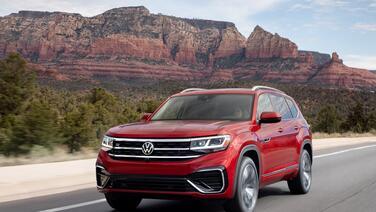 Prueba: Volkswagen Atlas V6 SEL Premium R-Line 2021, la camioneta familiar más grande de VW
