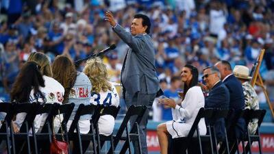 Fernando Valenzuela, leyenda de los Dodgers