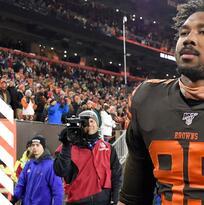 Myles Garrett apelará la suspensión impuesta por la NFL