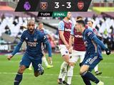 ¡Juegazo! Arsenal rescata un punto ante West Ham luego de ir 3-0 abajo