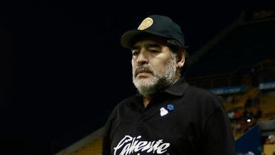 Maradona lamenta muerte de Toresani