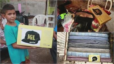 Afectados por el huracán Willa en Sinaloa reciben ayuda supuestamente enviada por el 'Chapo' Guzmán