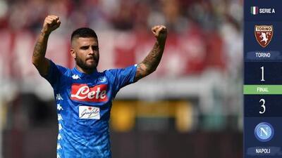 Nápoles vuelve a la senda del triunfo a costa del Torino