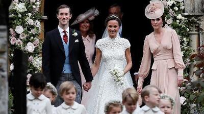 Así fue la boda de Pippa Middleton