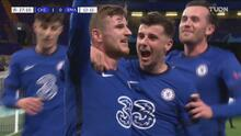 ¡Gol del Chelsea! Werner se sacude la malaria y pone el 1-0