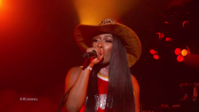 Megan Thee Stallion debuts on night show with 'Big Ole Freak'