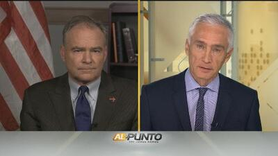 Jorge Ramo's interview with Democratic Candidate for Vice President Tim Kaine