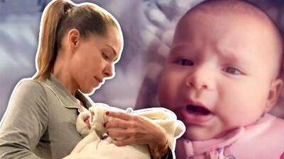 A tan solo 2 meses de nacida, la nieta de Sharis Cid ya intenta decir abuela