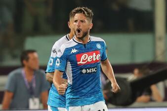En fotos: En un partido vibrante, Napoli derrota 4-3 a Fiorentina como visitante