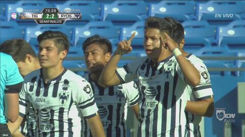 El Clásico Regio de la Dallas Club está de infarto: Rayados pone el empate 2-2