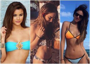 Clarissa, Belinda y Eiza son más ardientes que el sol