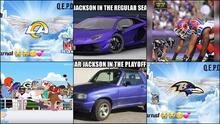 Los Ravens y los Rams salieron apaleados por los memes