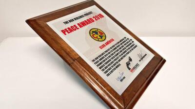 América nombrado 'Club de la Paz 2016'