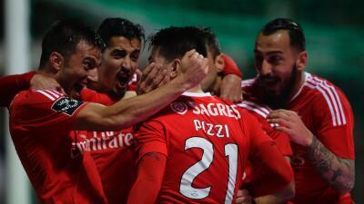 Benfica goleó al Moreirense en el cierre de la Liga portuguesa