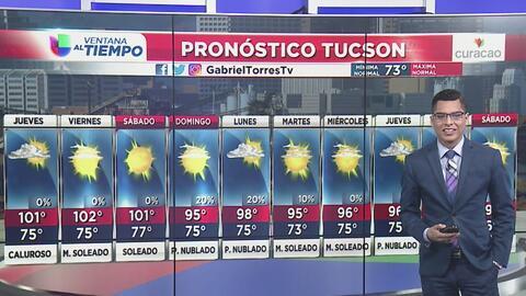 Continuará el patrón de temperaturas cálidas para este jueves en Arizona