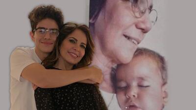 Hijo de Gloria Trevi se reencuentra con la monja Rosita, quien lo cuidó mientras su mamá estaba en la cárcel