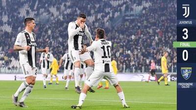 ¡Inspirados! Cristiano Ronaldo lidera una nueva goleada de la Juventus