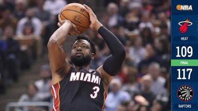 Heat cae ante Raptors y queda al borde del precipicio en la NBA