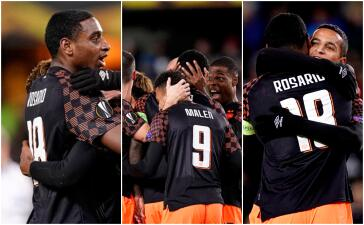 En fotos: PSV golea de visita 4-1 a Rosenborg en Europa League