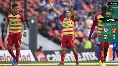 Hat-trick de Ferreira y Morelia regresó a Cruz Azul a la realidad