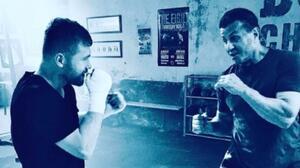 'Rocky' Balboa presume foto con 'Canelo' Álvarez