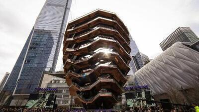 """The Vessel, el proyecto en Manhattan al que califican como un """"patio de recreo para ricos"""""""